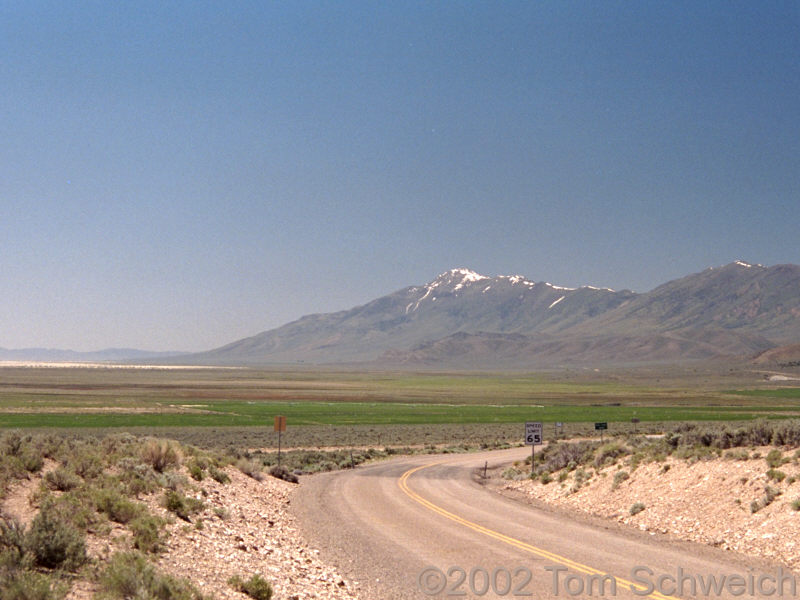 Newark Valley, Diamond Mountains, White Pine County, Nevada
