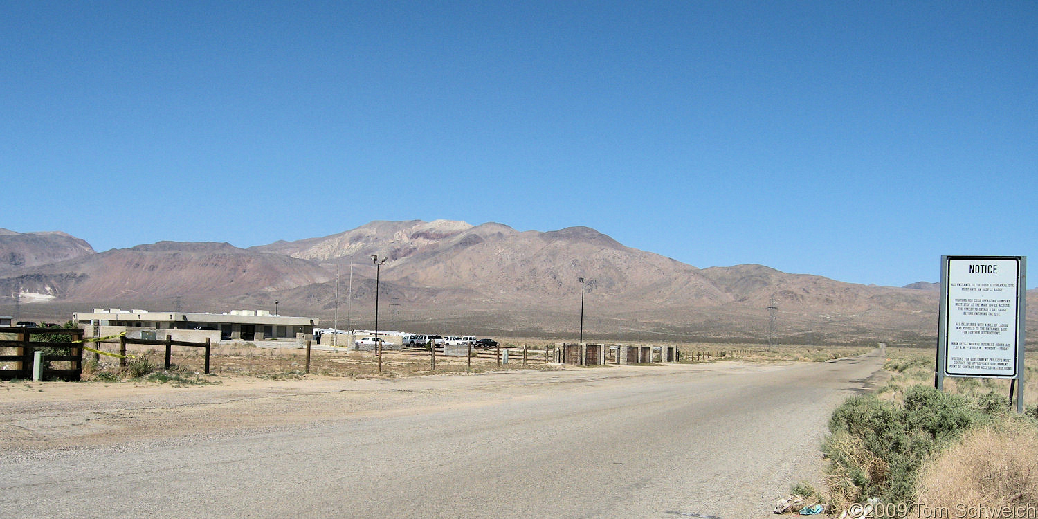 California, Inyo County, Coso Junction