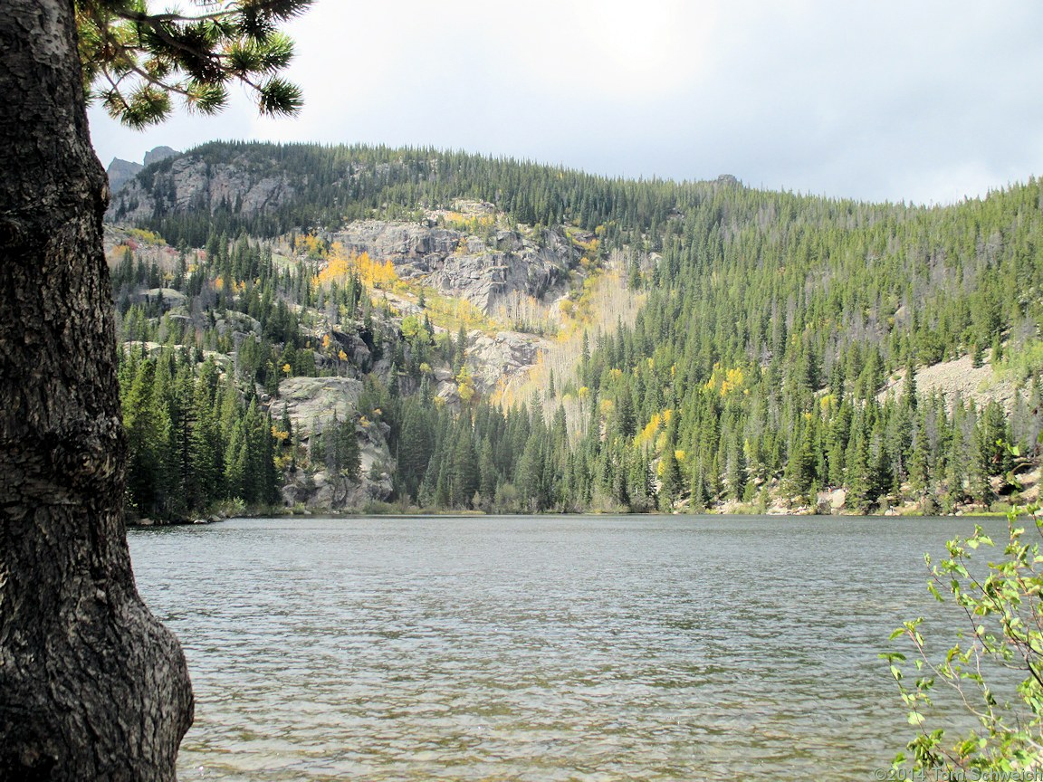 Colorado, Larimer County, Rocky Mountain National Park, Bear Lake