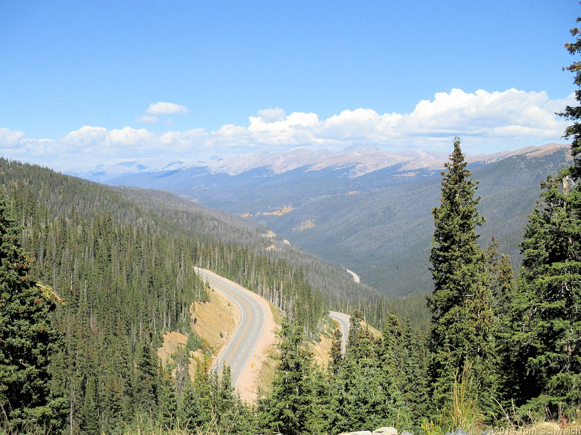 Colorado, Clear Creek County, Berthoud Pass
