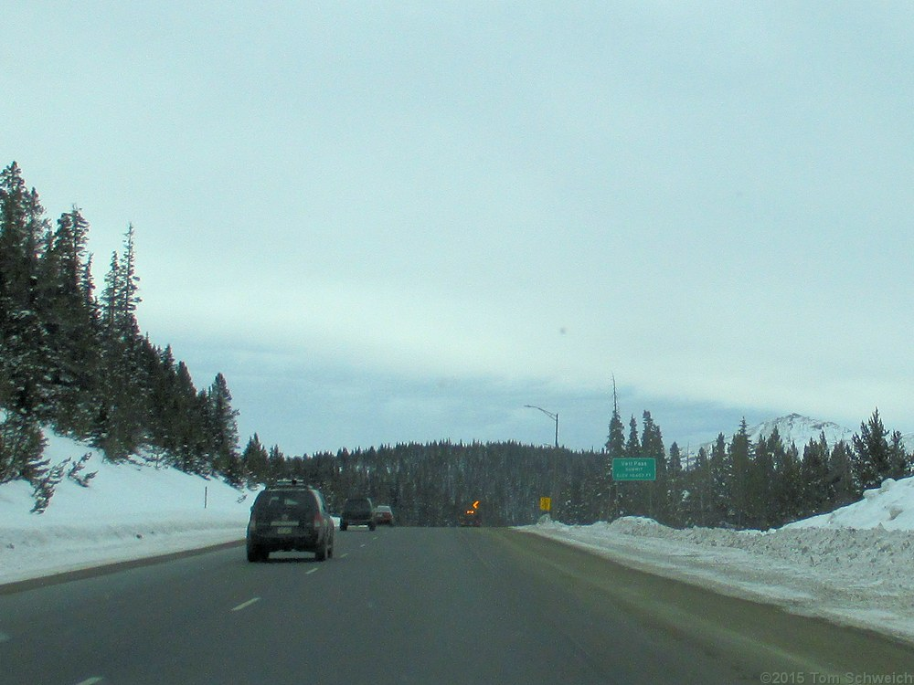 Colorado, Summit County, Vail Pass