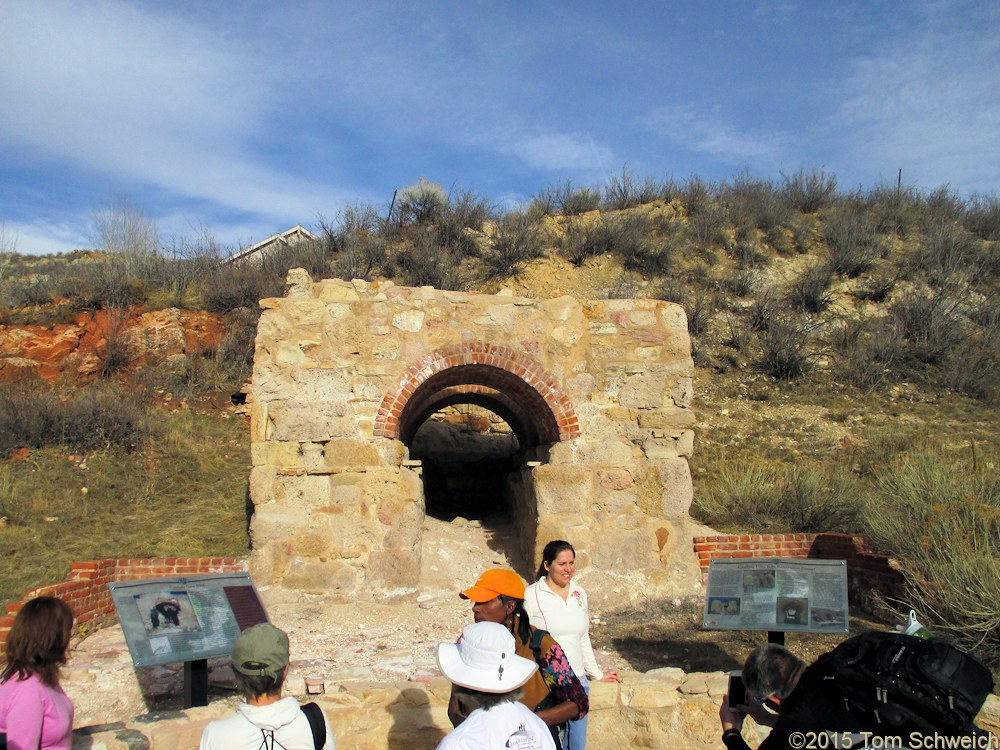 Colorado, Jefferson County, Golden, Cambria Lime Kiln