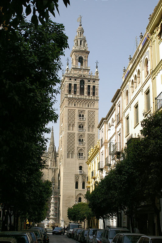 The Cathedral Tower with Giralda.