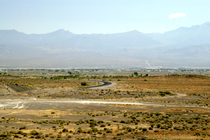 Pahrump, as seen from the west.
