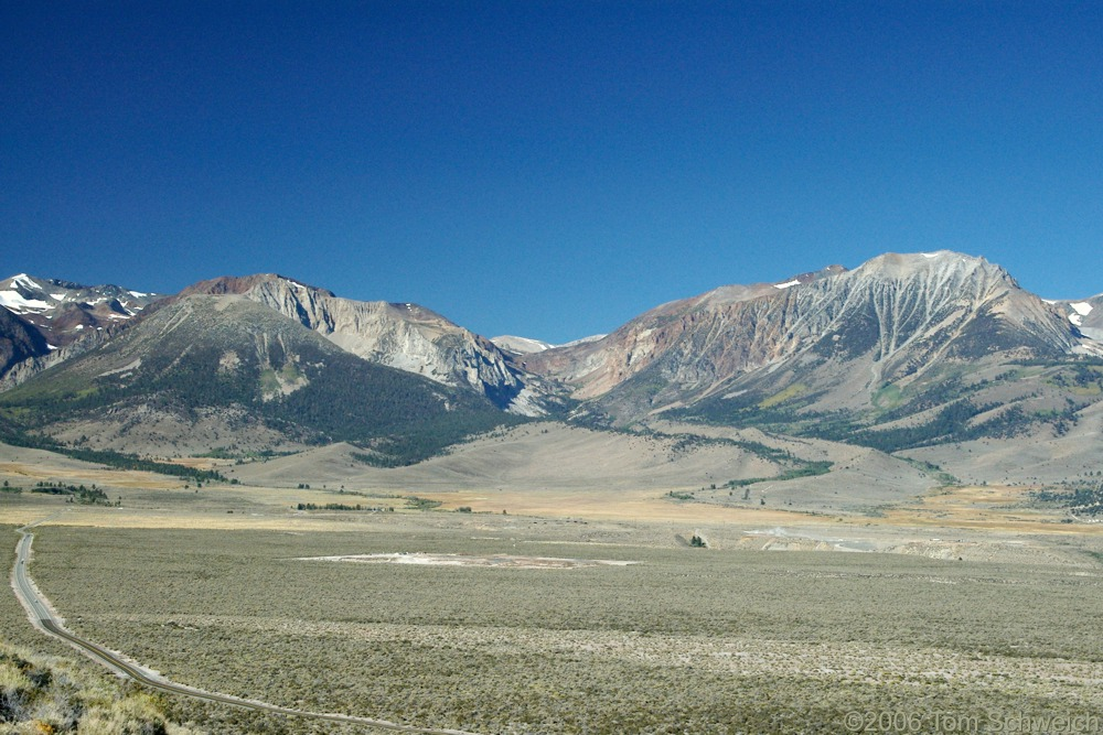 Bloody Canyon, Glacial Moraine, Mono County, California
