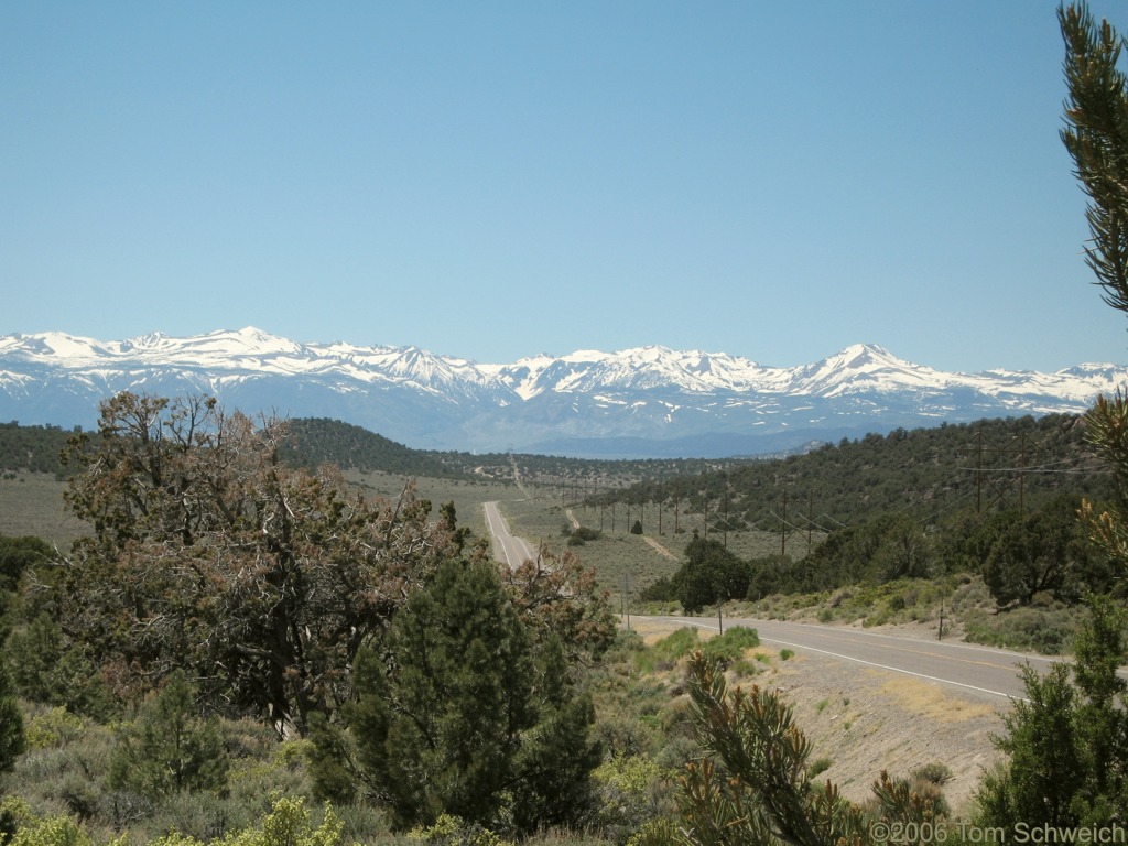 Sierra Nevada, Anchorite Pass, Mineral County, Nevada