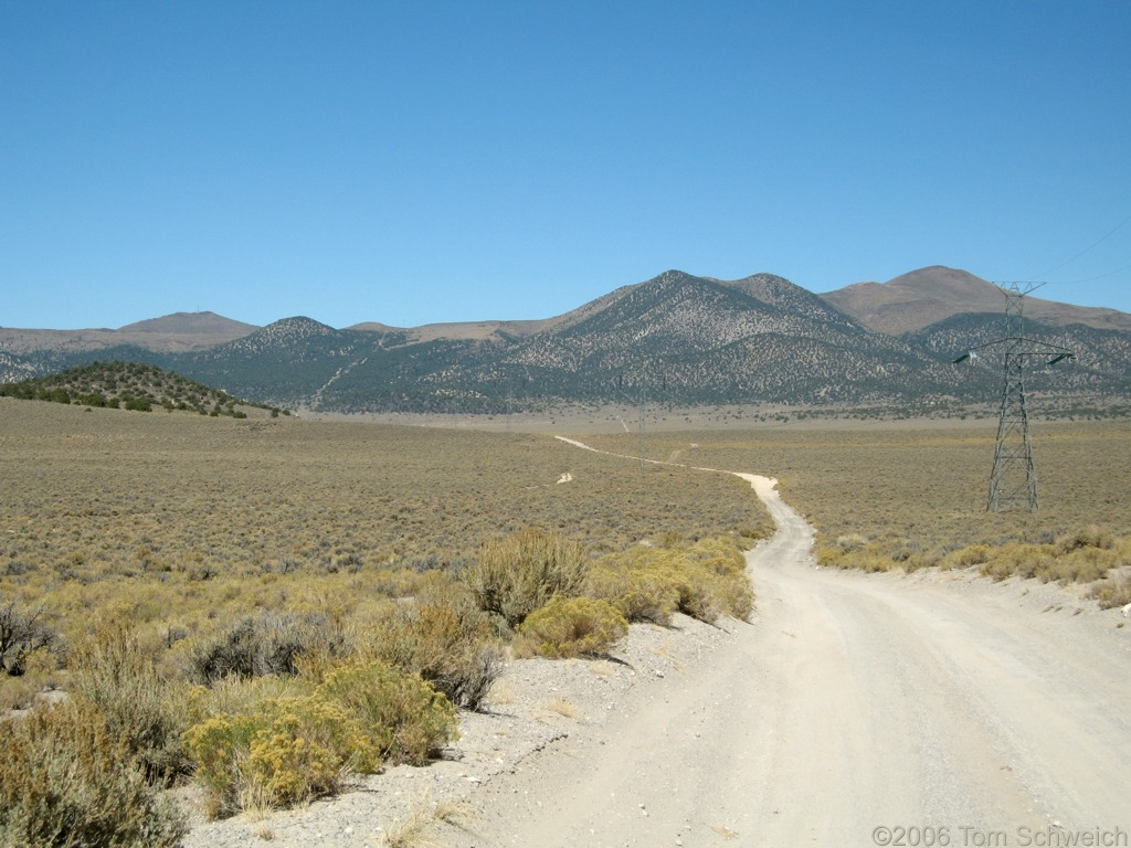 Alkali Valley, Mineral County, California